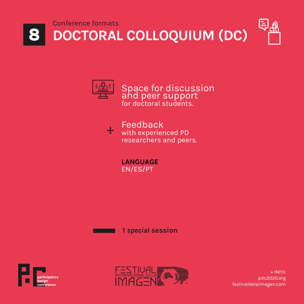 doctoral colloquium