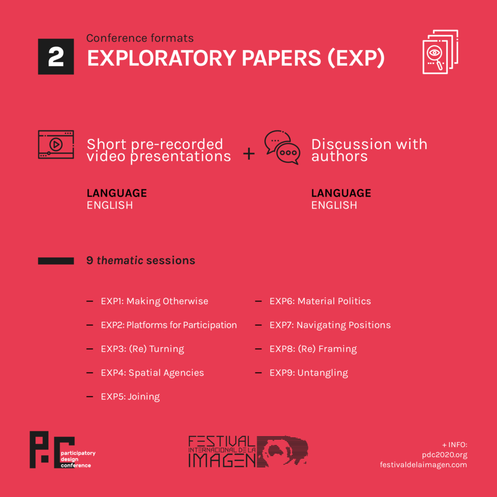 Exploratory papers format