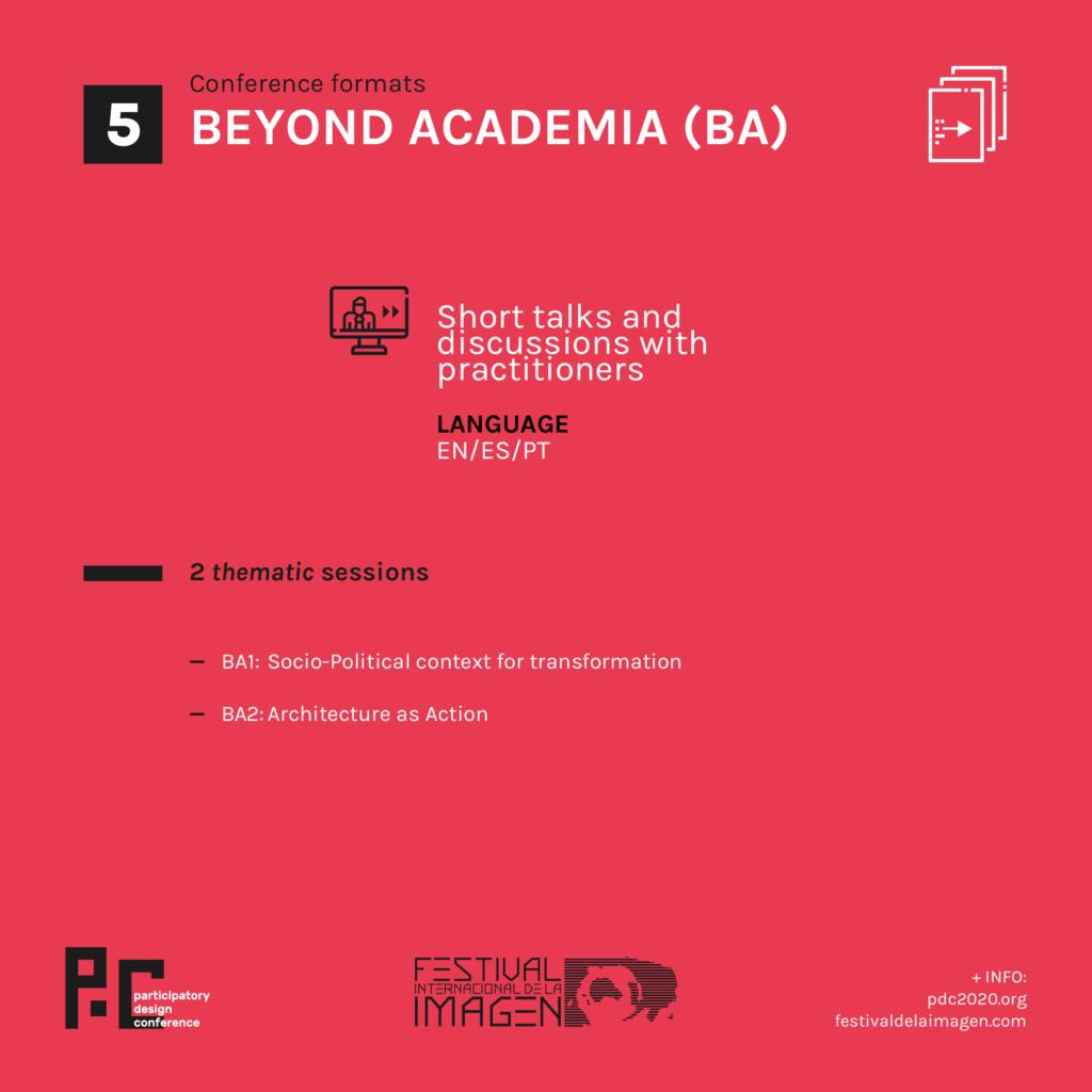 Beyond academia format
